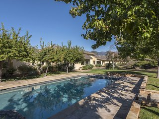 Beautiful estate in Goleta, private pool and hot tub, private tennis court and garden - The Secret Garden - Goleta vacation rentals