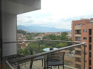 Posh and Modern! Roof Deck with Sauna, Steam, Gym - Medellin vacation rentals
