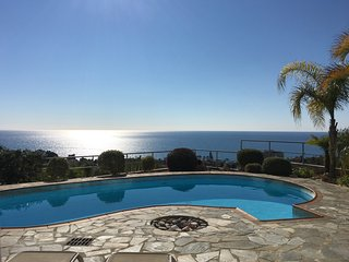 Hilltop view villa with some of the best sea views in Cyprus Free Wi- Fi - Pissouri vacation rentals