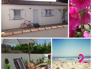Bungalow Ocean, 400 meter van zee, Ile de Ré - Le Bois-Plage-en-Re vacation rentals