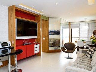 Ipanema - 2 suites - with balcony ocean view OFRS604 - Rio de Janeiro vacation rentals