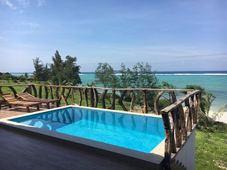 ZI BEACH COTTAGE - New beach cottage ideal for honeymooners or small families. - Matemwe vacation rentals