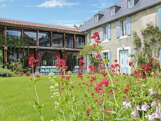 In the Hautes-Pyrénées, large luxury gîte with unobstructed mountain views and garden - La Barthe-de-Neste vacation rentals