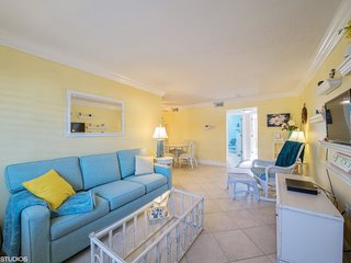 Tropic Breeze #1 | Brightly updated condo, walk to beach - Saint Pete Beach vacation rentals