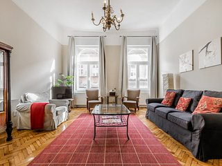 Metres from Opera, balcony 2 bed classical apt. - Budapest vacation rentals
