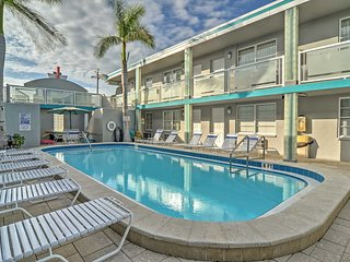 NEW! Clearwater Beach Studio Steps from the Beach! - Clearwater vacation rentals