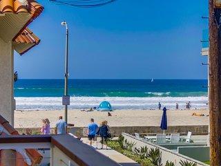 OCEAN VIEW 2br+2ba STEPS OCEAN - Pacific Beach vacation rentals