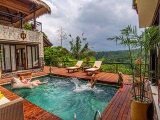 Luxury Private Jungle Estate - Stunning Service, Amazing Views! - Ubud vacation rentals
