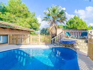 SON GIBERT - villa with private pool for 6 people in Petra - Petra vacation rentals