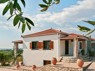 Enchanting apartment with sea view in the middle of an olive-grove - Skafidia vacation rentals