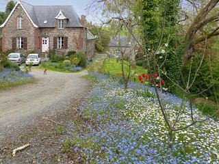 Quiet, 2-bedroom house in Dol-de-Bretagne with a hot tub and furnished terrace – 20min to St. Malo! - Dol-de-Bretagne vacation rentals