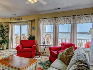 """Comes A Time"" New Remodel, Best Location Walk To Everything, Oceanfront home - Surf City vacation rentals"