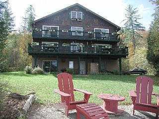 Camp Awad, Lakefront home on the southern shore of Paradox Lake.  sandy beach - Paradox vacation rentals