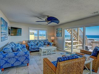 Pelican's Landing - 100K Renovation, Unparalleled views - Oceanfront home - Surf City vacation rentals