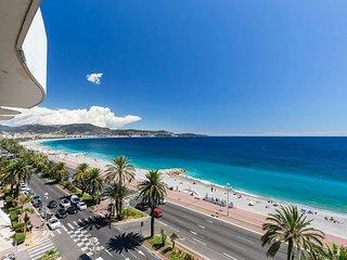 Moderne sur promenade des Anglais face mer - Nice vacation rentals
