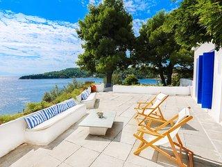 Beachfront Villa with Semi-Private Sandy Beach - Kanapitsa vacation rentals