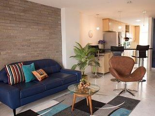 5 Star, Designer Chic and Comfy 2 Bed in Laureles! - Medellin vacation rentals