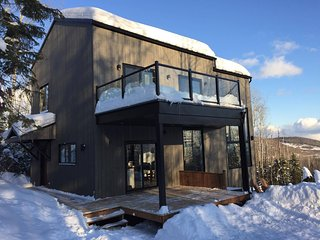 Cozy, sunny 3 bedroom chalet with spectacular view - Saint-Cassien-des-Caps vacation rentals