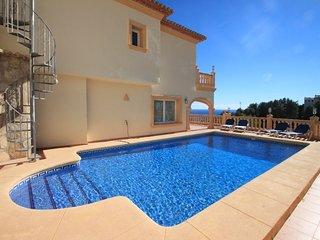 Valentina - sea view villa with private pool in Moraira - La Llobella vacation rentals