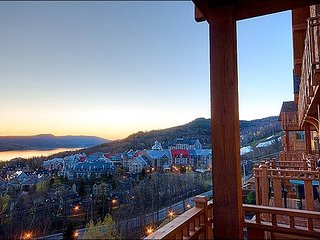 Luxurious Decor and Furnishings - Common Area Hot Tub (6063) - Mont Tremblant vacation rentals