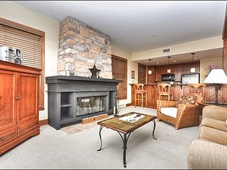 Incredible Views from the Private Balcony - Common Area Outdoor Hot Tub (6064) - Mont Tremblant vacation rentals