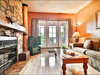 Walk to Village Shops and Restaurants - Panoramic View of Lake Tremblant (6078) - Mont Tremblant vacation rentals