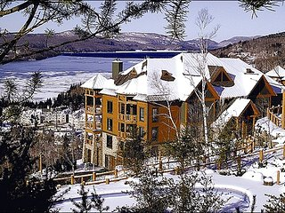 Lovely View of Forest & Lake Tremblant - Convenient to Mountain & Village Activities (6080) - Mont Tremblant vacation rentals