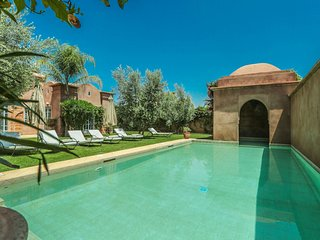 Cozy 3 bedroom Villa in Marrakech with A/C - Marrakech vacation rentals