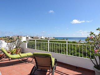 Per's funky, bright and spacious Coco Beach Penthouse with spectacular sea views - Playa del Carmen vacation rentals