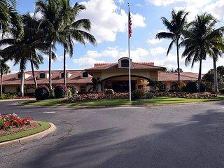 Ground floor Island Sound at Pelican Sound condo resort style amenities - Estero vacation rentals