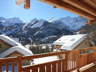 Rental luxury Chalet Cabri Serre-Chevalier ski holidays - Le Monetier-les-Bains vacation rentals
