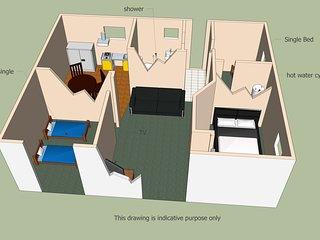 Dawn CHorus, three room accommodation - Hamilton vacation rentals