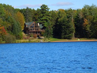 Luxury Lakefront Cabin On 5,000 Acre -Lac Courte Oreilles, Hayward's Finest Lake - Hayward vacation rentals
