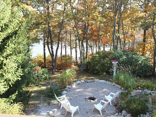 Waterfront Home with Large Private Deck and Hot Tub Overlooking Pond; 054-O - South Orleans vacation rentals