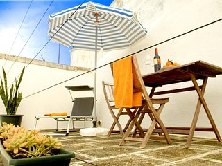 Historic apartment in Ostuni, Puglia, with rooftop terrace & splendid view across the Madurai Hills - Ostuni vacation rentals