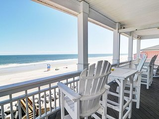 Dolphin Watch 1 -  Enjoy this spacious oceanfront duplex with panoramic views - Carolina Beach vacation rentals