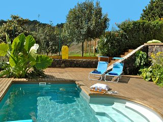 Modern terraced villa with private heated pool in the country and near the sea - Firgas vacation rentals
