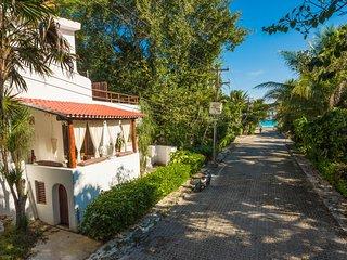 Splendida villa con piscina fronte mare dei Caraibi Playacar fase 1 - Playa del Carmen vacation rentals