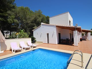 Luxurious & Secluded Villa - Private Pool, Walk to the Beach & Moraira: Villa Ampolla 2 - La Llobella vacation rentals