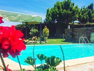 Casa Segovia – a rustic 5-bedroom house in rural Domingo Garcia with a pool – 28km from Segovia! - Domingo Garcia vacation rentals