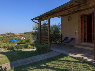 Il Granaio 1 Bedroom Tuscan Farmhouse - San Gimignano vacation rentals