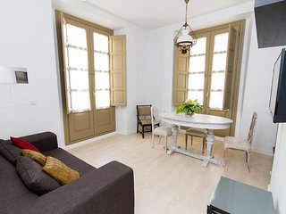 Spanish Central Apartment with Rustic Charm - Malaga vacation rentals