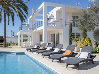 Bright Villa with Deck and Television - Ibiza vacation rentals