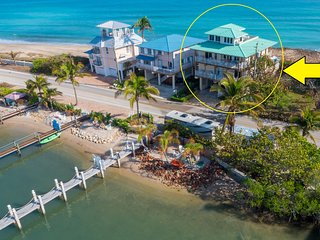 Carpe Diem! Stunning FL Beach House ON Beach +Dock!  << $100 per night / Bedroom - Stuart vacation rentals