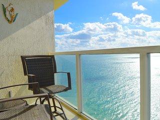 SUNNY CONDO - HIGH FLOOR - EXPANSIVE OCEAN VIEWS - DESIGNER DECOR - OCEAN FRONT! - Sunny Isles Beach vacation rentals