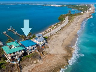"""""""Heaven Can't Wait!"""" Oceanfront & Riverfront (Pet-Friendly Beach House in SE FL) - Stuart vacation rentals"""