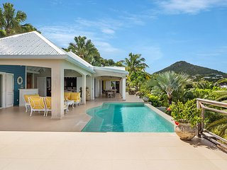 Bright Villa with DVD Player and Fitness Room - Marigot vacation rentals