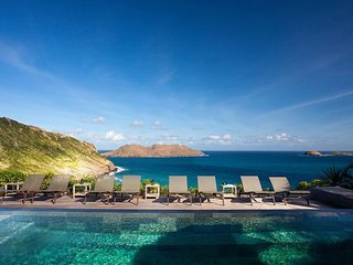 Luxury 7 bedroom St. Barts villa. Fabulous view! - Anse Des Cayes vacation rentals