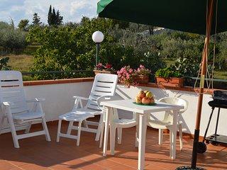Villa Rossella Alloggio B -per 3 persone, Wifi gratis,posto auto e prato privati - Tinchi vacation rentals