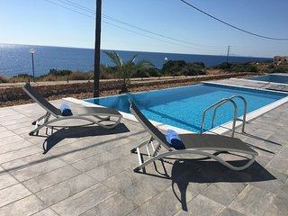 Elegant Villa with private pool and sea view - Skala vacation rentals